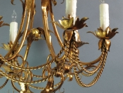 Chandelier with Rope Design