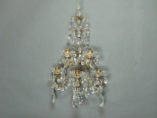 Pair of French Five Light Sconces