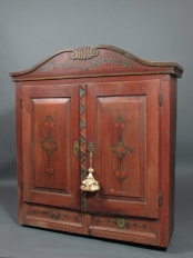 Hand Painted Russian Cupboard