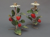 Strawberry Candleholders