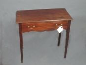 English early 19th century one drawer table