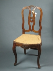 Set of Four Italian Chairs   –   SOLD