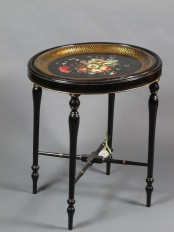 Papier Mache Tray Table