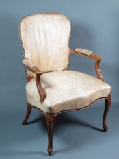 Goat Skin Chair