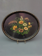 Oval Tole Tray