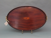 Oval Wooden Tray