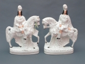 Pair of Staffordshire Horsemen