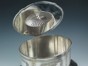 English Silver Plated Biscuit Box   –   SOLD