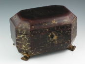 Chinese Lacquer Tea Caddy – SOLD