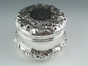 Gorham Solid Sterling Dresser Jar