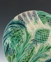 Pair of French Asparagus Plates