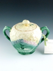 Etruscan covered sugar bowl