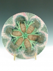 Etruscan Shell and Seaweed Plate